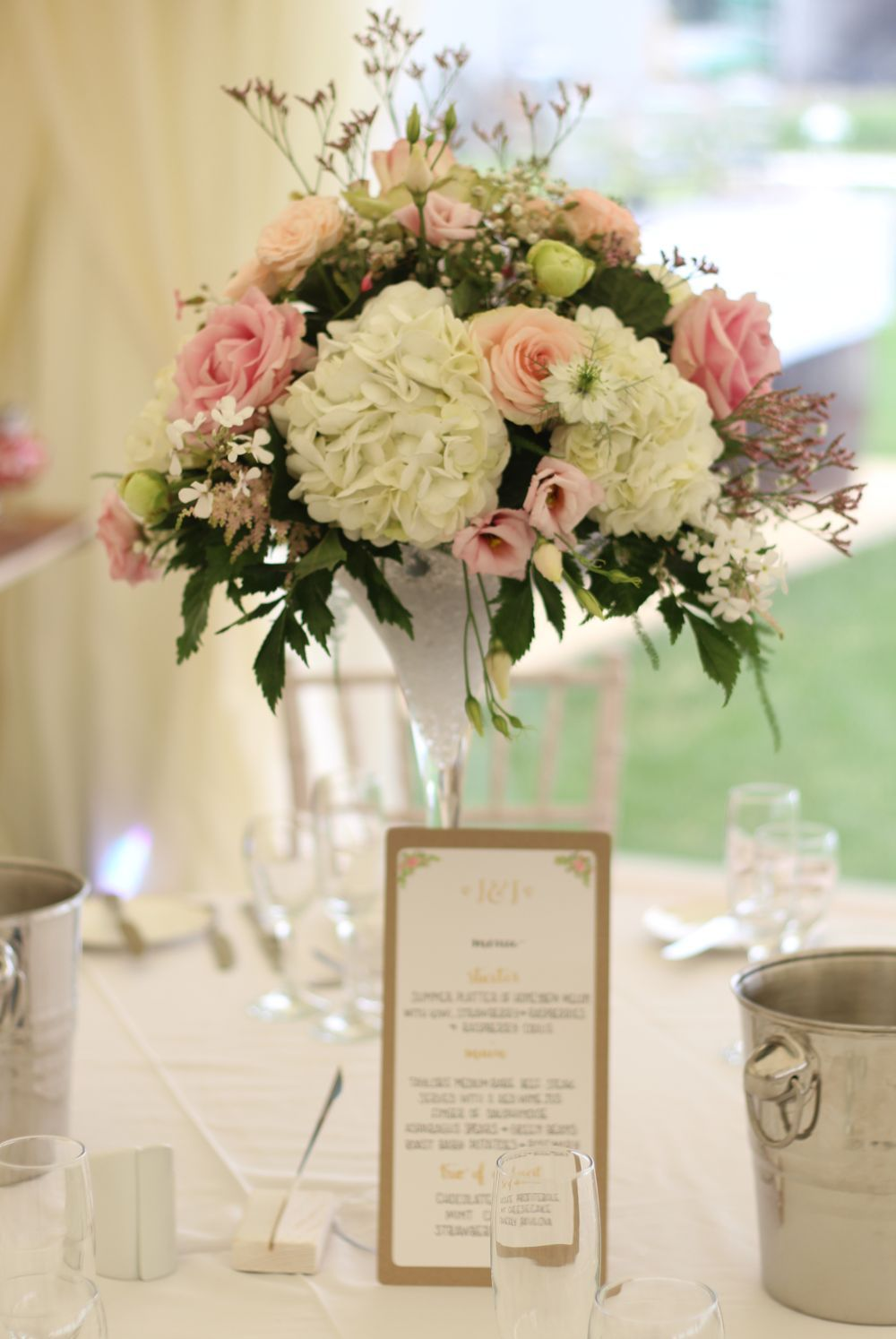 Marquee flowers.   *table flowers* the flower farm   Pinterest ...