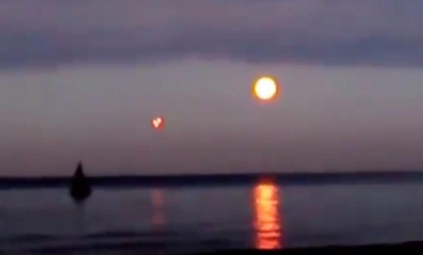 Nibiru captado desde el Mar Báltico, Rusia - Agosto 2015 (Vídeo)