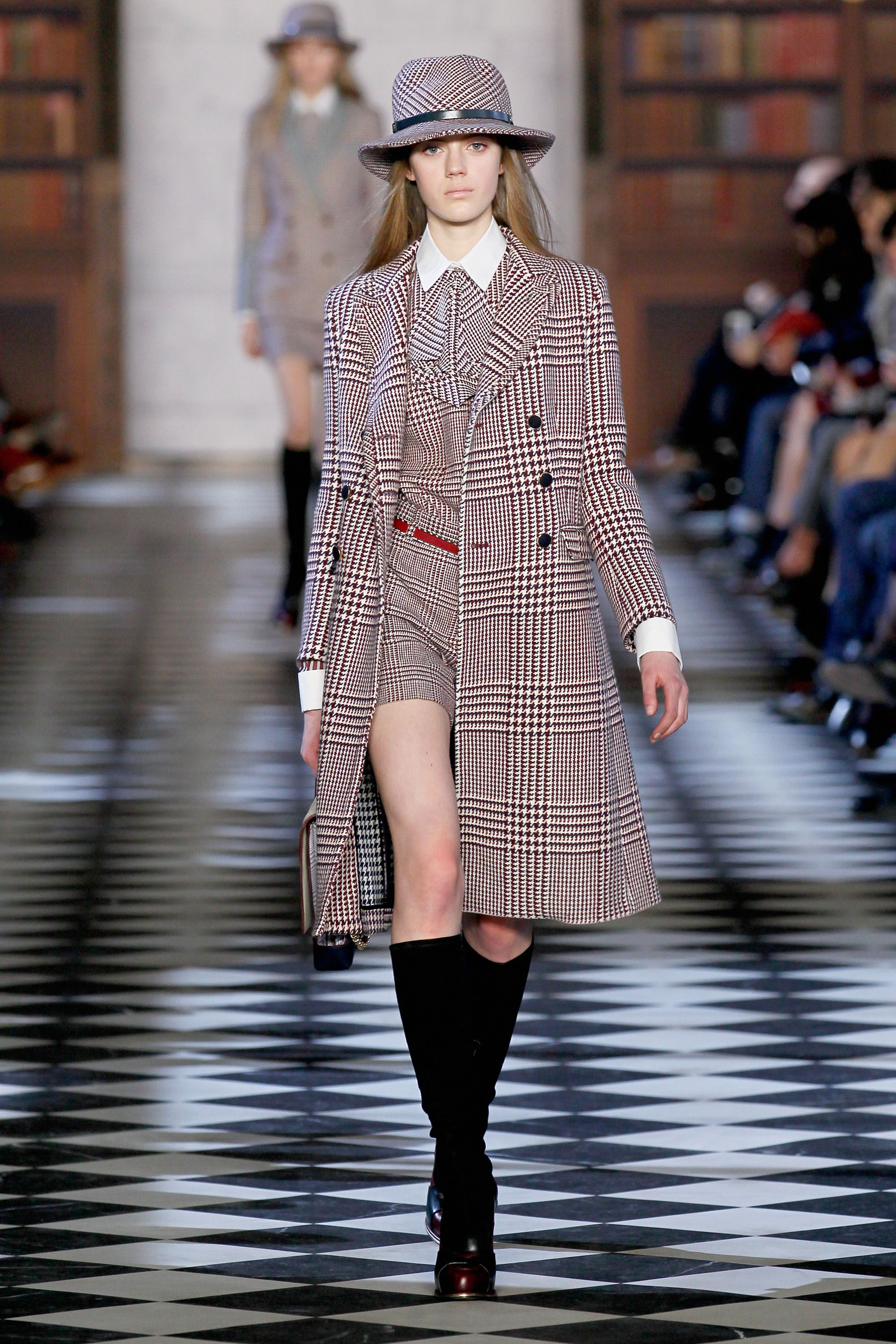 Tommy Hilfiger Women's Fall 2013 fashion show during Mercedes-Benz Fashion Week