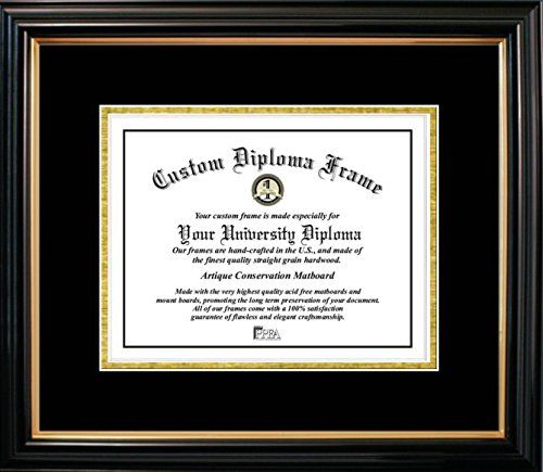 Campus Images Petite with Gold Trim Certificate Picture Frame with ...