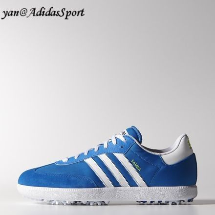 on sale f615b c8742 Men Adidas Originals Samba Golf Galaxyhighlighterwhite shoes HOT SALE!  HOT PRICE!