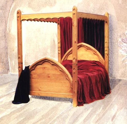 In Shakespeare's time, mattresses were secured on bed frames by ropes. When you  pulled on the ropes, the mattress tightened, making th…   Bed, Bed frame,  Home decor