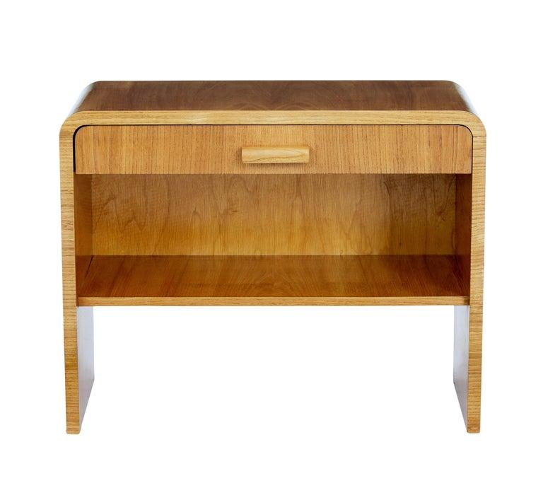 Mid 20th Century Scandinavian Elm Bedside Table For Sale At 1stdibs In 2020 Elm Bedside Table Bedside Tables For Sale Modern Scandinavian Furniture