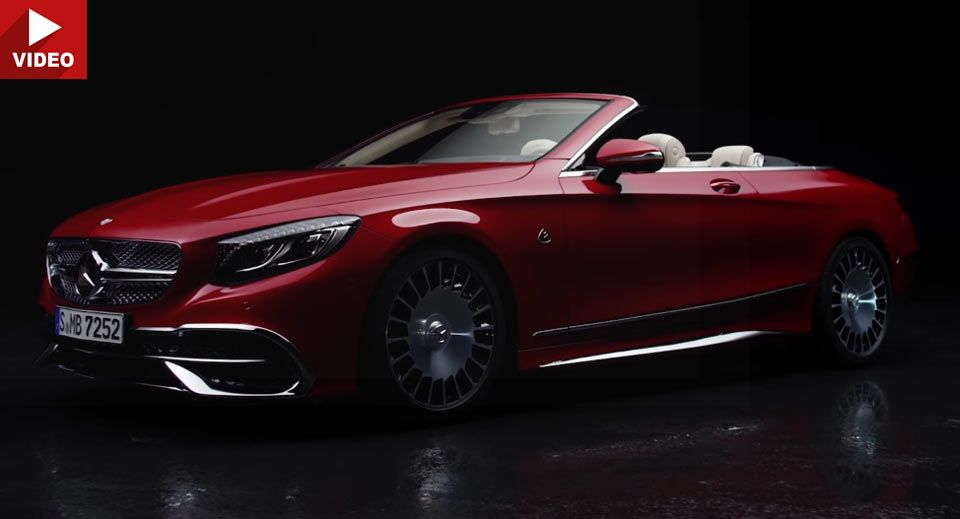 mercedes-maybach s650 cabriolet debuts on video | cars | pinterest