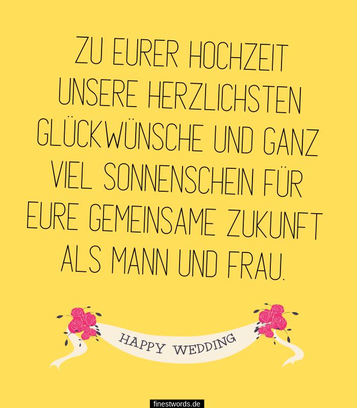 31 moderne Hochzeitssprüche für Karten - finestwords.de