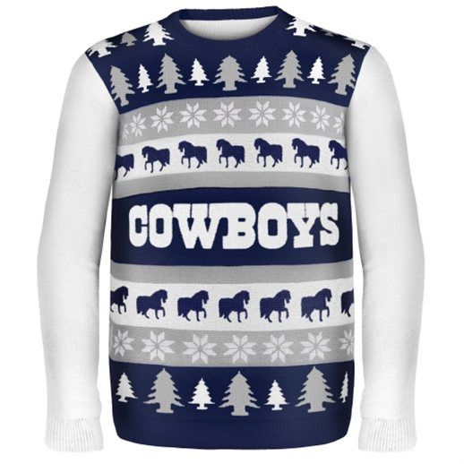 60231f1bdac Dallas Cowboys Ugly Christmas Sweaters