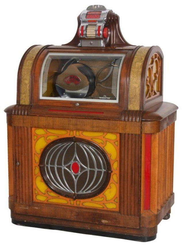 packard manhattan model jukebox 1946 on jukebox. Black Bedroom Furniture Sets. Home Design Ideas