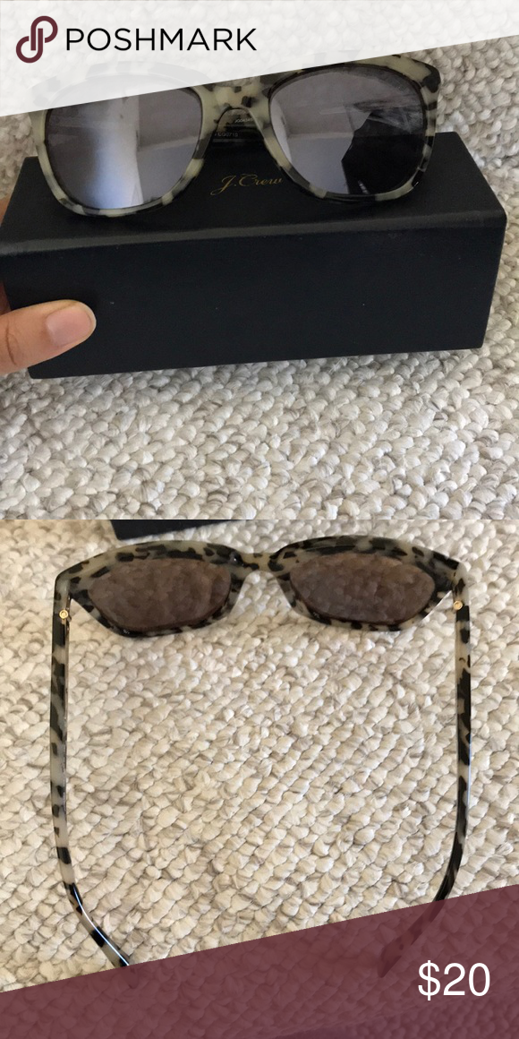 65e0b7575630 Jcrew granny tortoise sunglasses Excellent condition. Hardly worn. Comes  with case. No scratches on lenses J. Crew Accessories Sunglasses