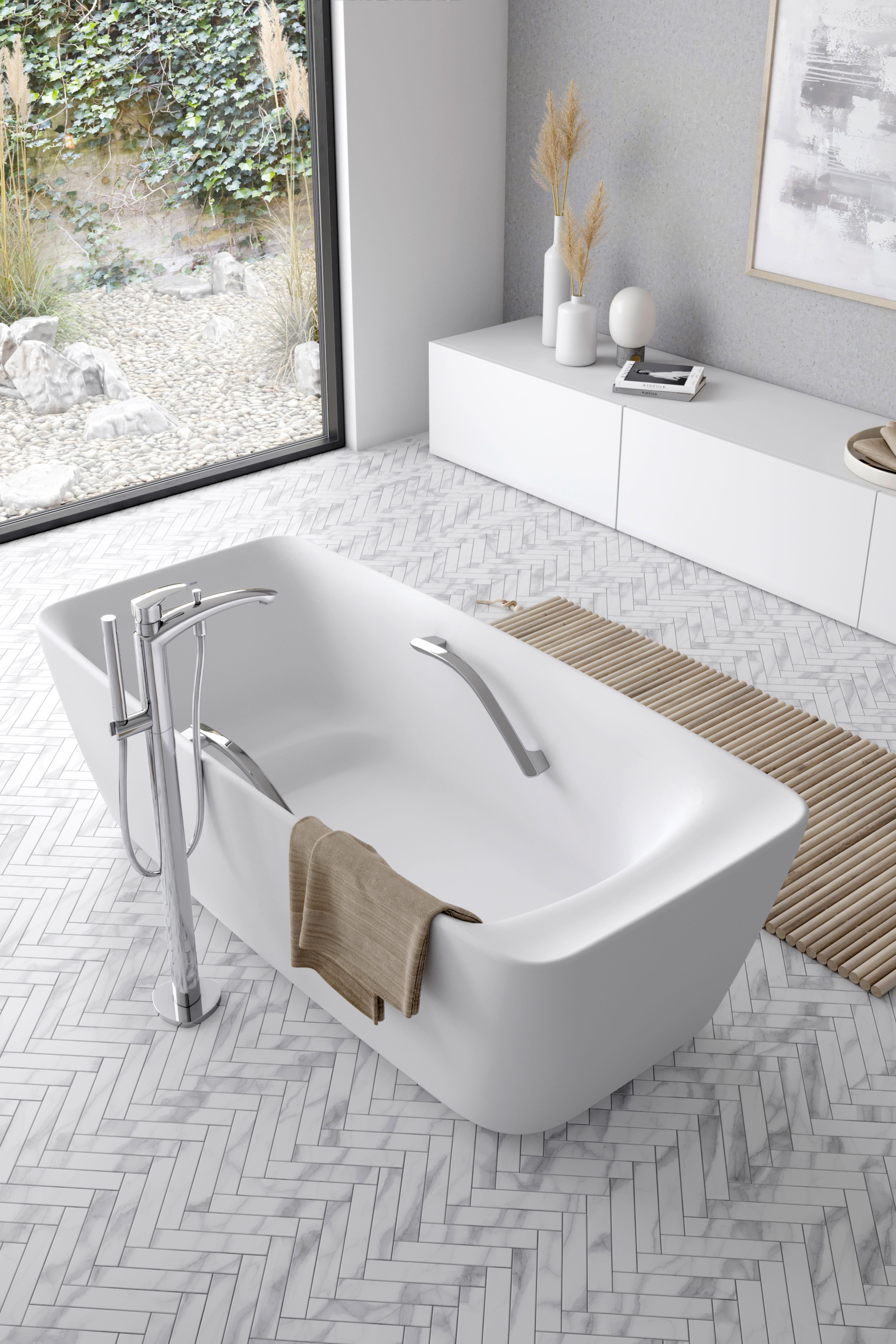 Toto Floating Bathtub Badezimmer Baden Zimmer
