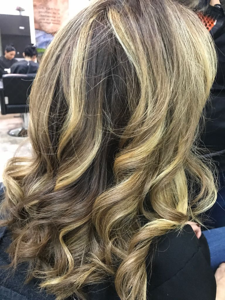 Highlights Technique Balayage Prive By Laurent D Nyc 212