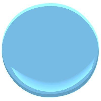 Benjamin Moore Costa Rica Blue 2064 50 Paint Colors