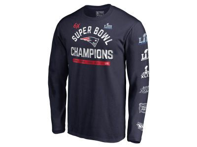26b309819 Find a New England Patriots Majestic NFL Men s Super Bowl LIII Champion  Always Champion 6X Long Sleeve T-Shirt at lids today! With our huge  selection of New ...