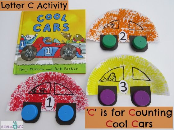 car craft activity for kids