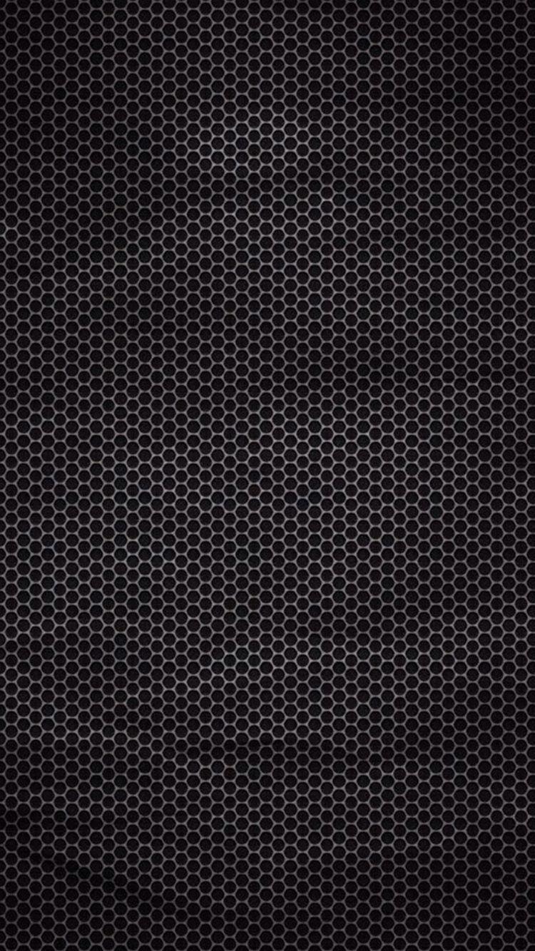 Hexagonal Dark Metallic Pattern Iphone 6 Wallpaper Mobile Wallpaper Android Abstract Iphone Wallpaper Iphone 5s Wallpaper