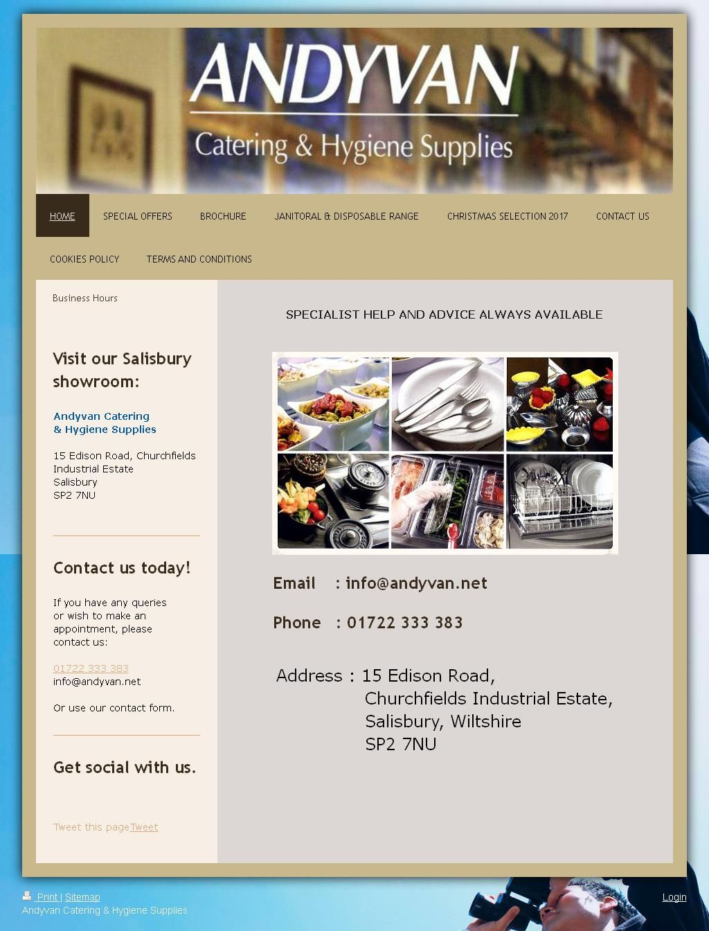 Andyvan Catering & Hygiene Supplies Catering Equipment 15