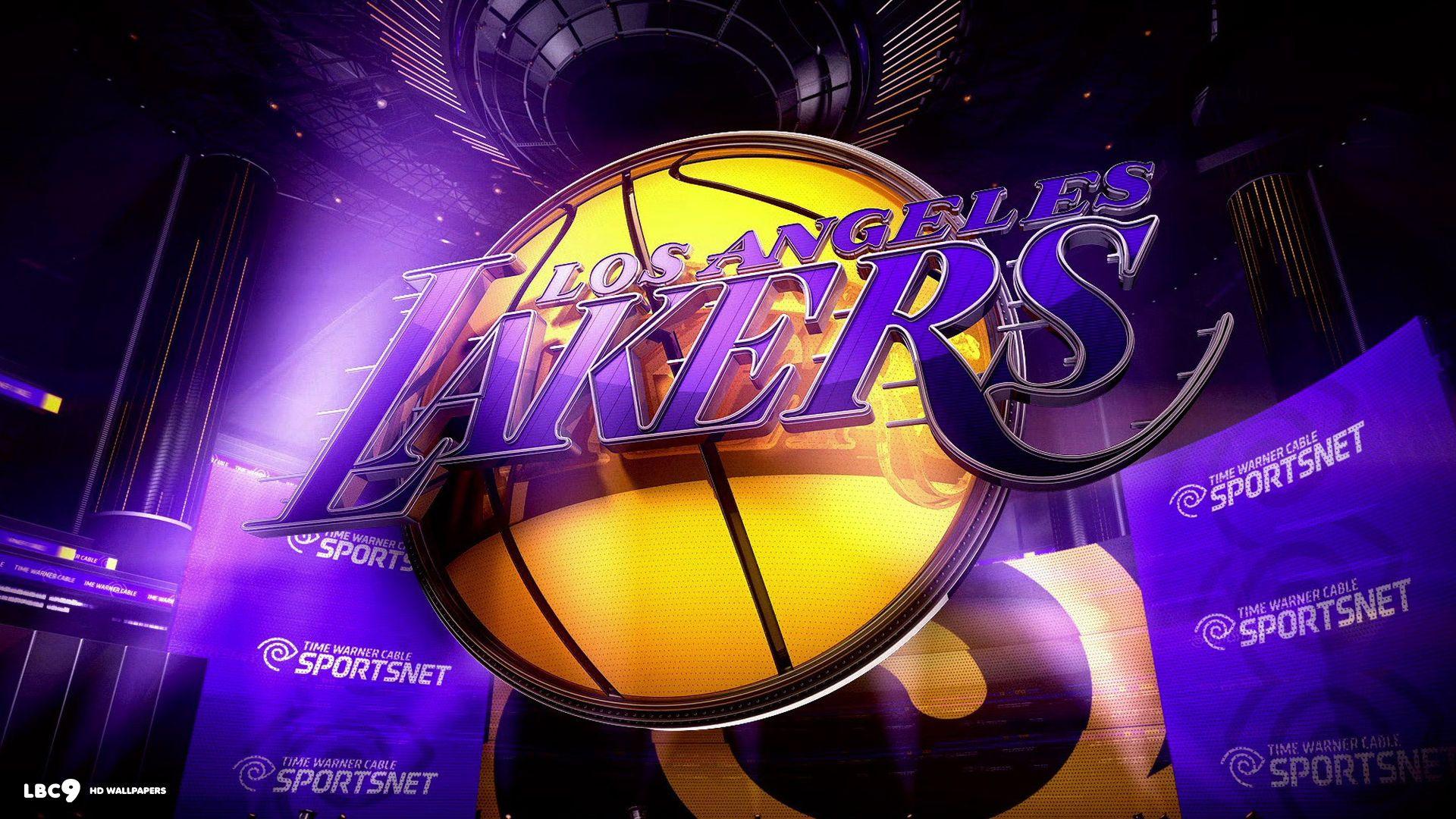 3d Lakers Wallpaper High Definition | Wallpaper | Lakers wallpaper, Los angeles lakers logo, La ...