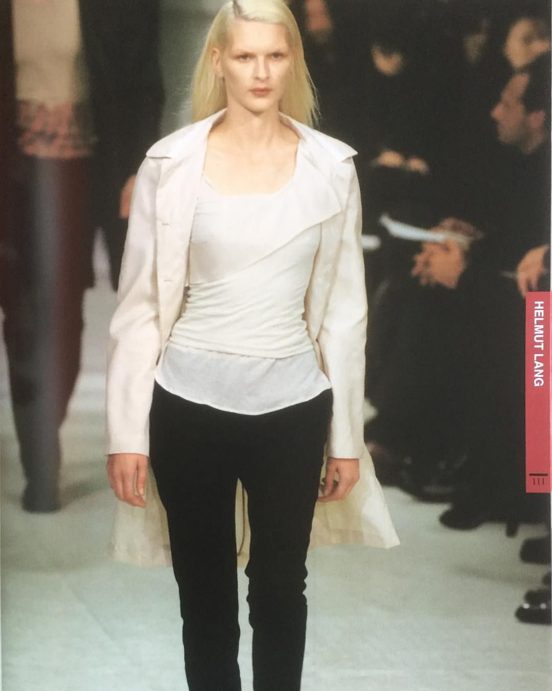 Helmut Lang Spring Summer 97 From Gap Collections Featuring Major Collections Of Every Designer Consisting Of 1500 Original Helmut Lang Fashion Spring Summer
