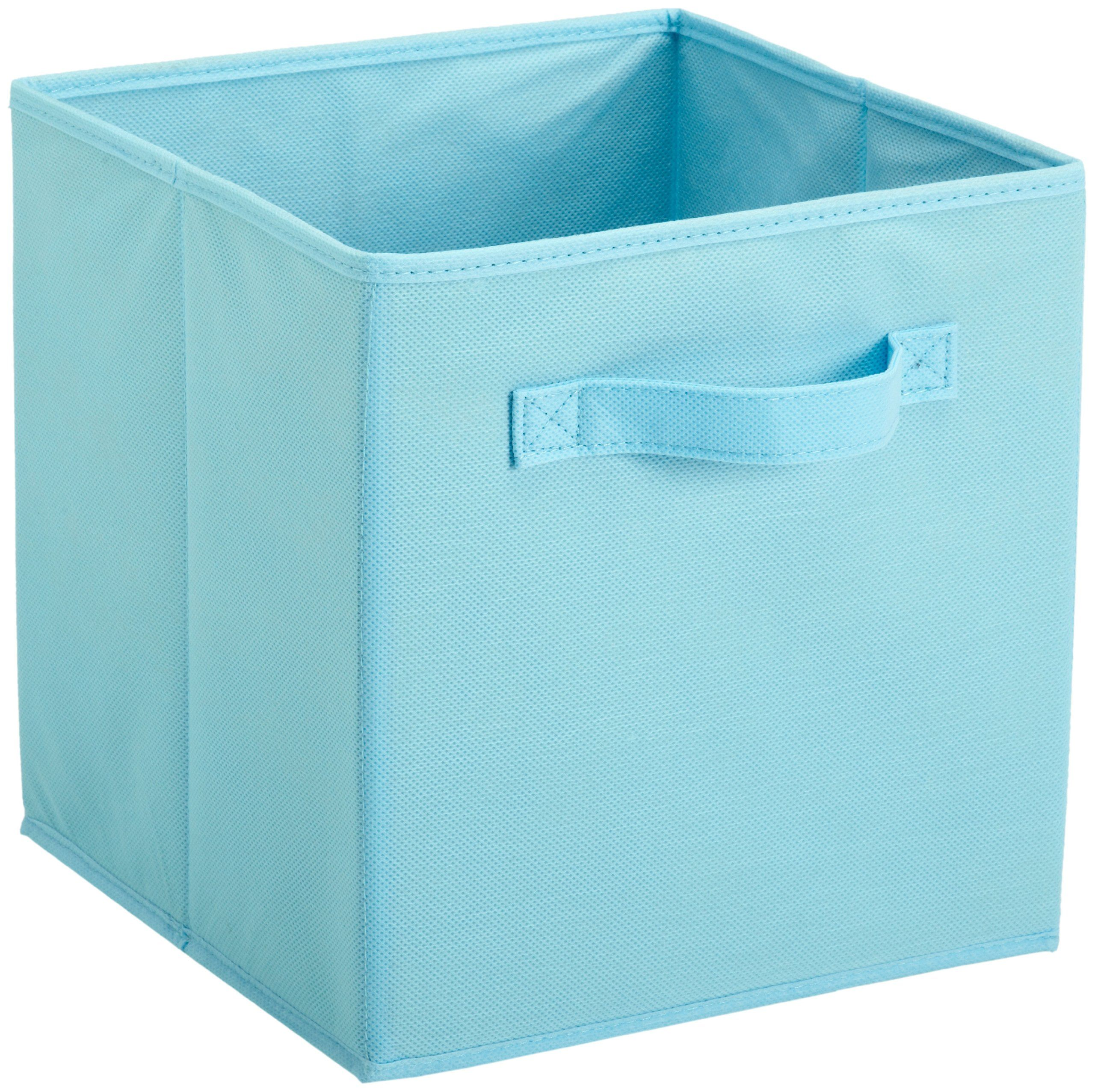 Closetmaid Cubeicals Fabric Drawer Pale Blue Fabric Storage Boxes Fabric Drawers Ikea Storage Bins
