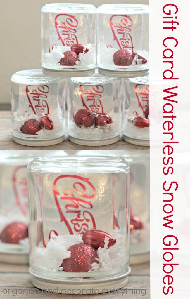 Gift Card Waterless Snow Globes Gift Card Presentation Globe Gift Snow Gifts