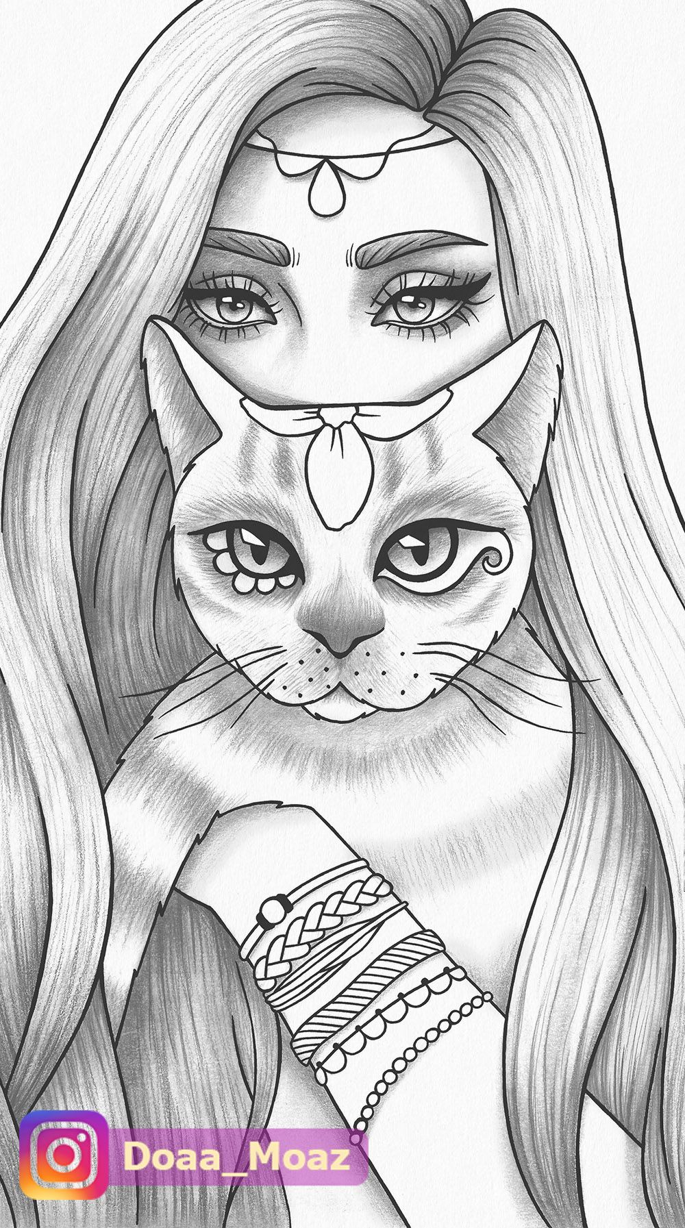 Coloring Page Art Sketches Creative Drawing Outline Drawings