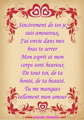 Tu Me Manques Sms Messages Damour Amour Message