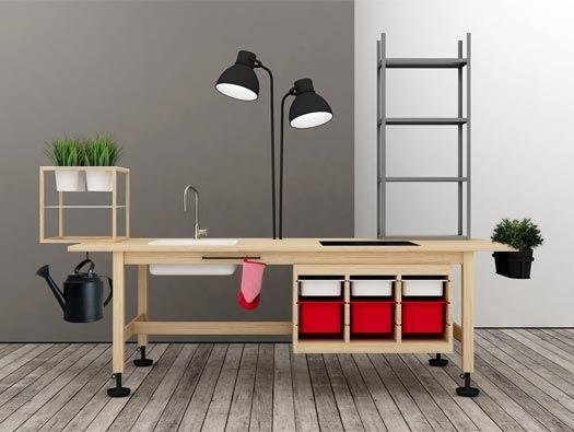 Kantoorinrichting Van Hypernuit : Lato b furniture by teste di legno kitchenaid pinterest