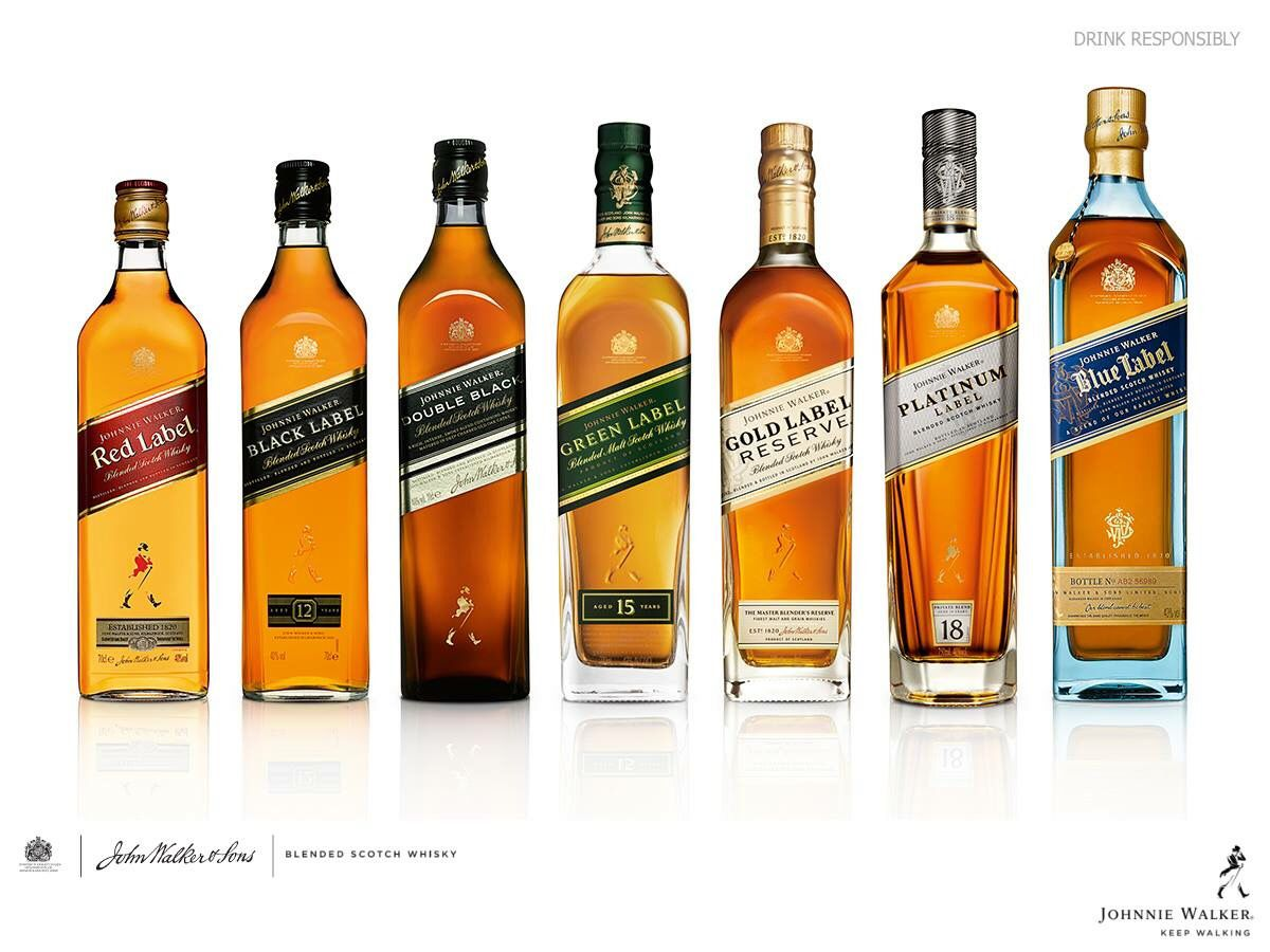 Johnnie Walker® | Collection - Blended Scotch Whisky | whiskey ...