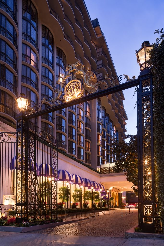 Enter The Beverly Wilshire Through These Majestic Gates With