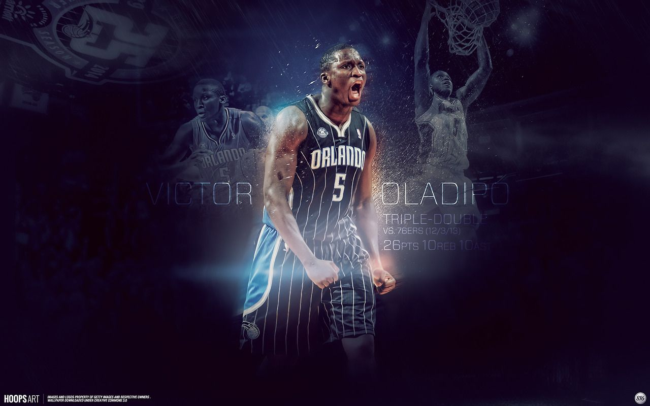 Orlando Magic Victor Oladipo Nba Wallpaper From Hoopsart
