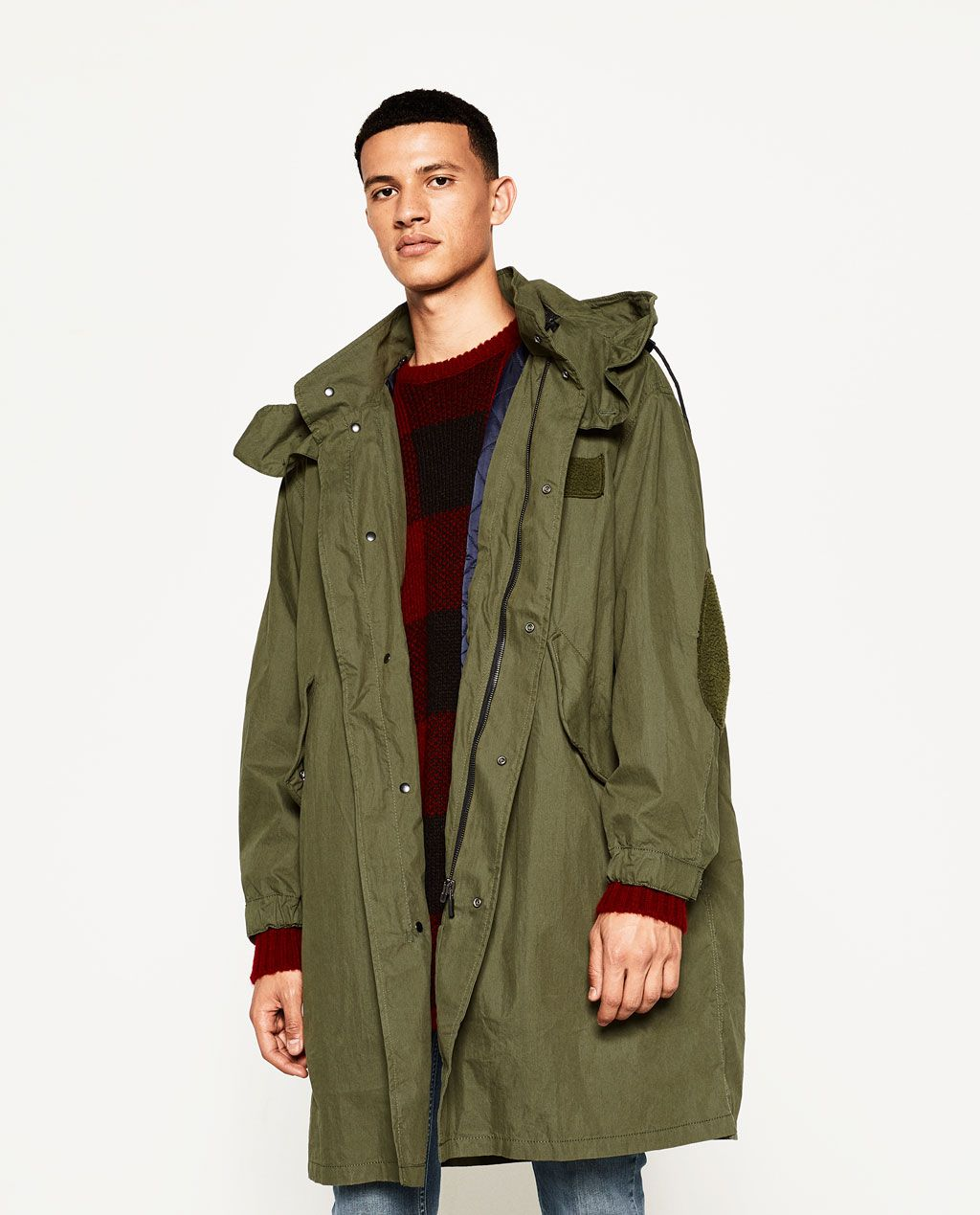 ZARA MAN OVERSIZED PARKA | Mens fall, Parka, Zara man