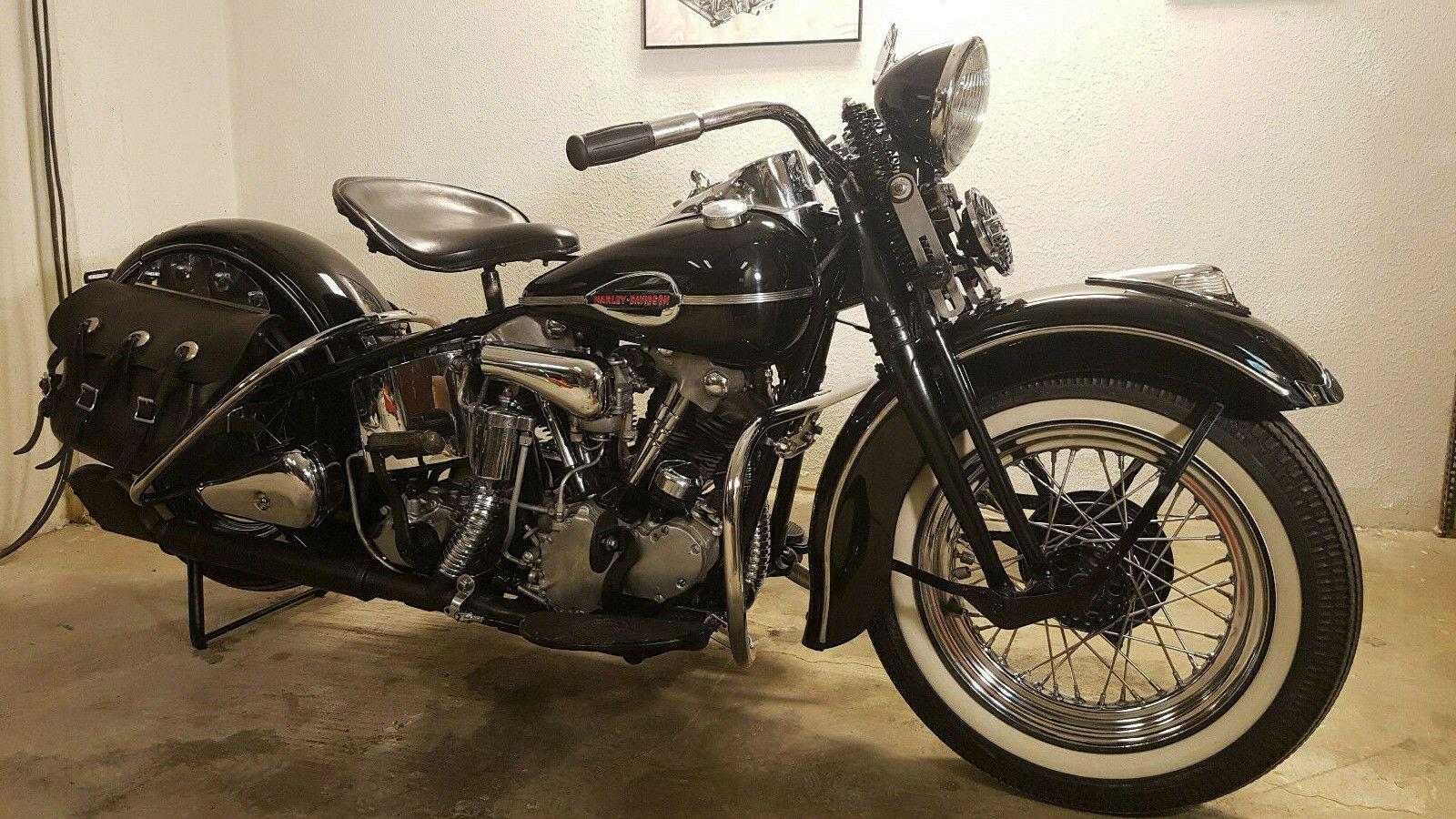 1937 Harley Davidson Touring Harley Davidson Knucklehead El 1937