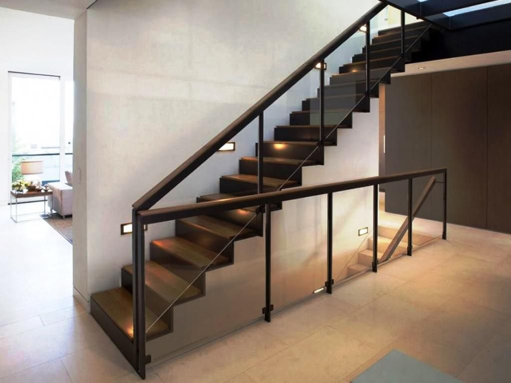 Railing Installation And Repair Stair Railing Hardware Fashion A Stair  Components In Front Of Art Deco Modern Look To Add A Simple Costeffective  Way To Add ...