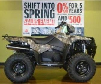 Cheap Used 2013 Suzuki Kingquad 750axi Four Wheeler For Sale In