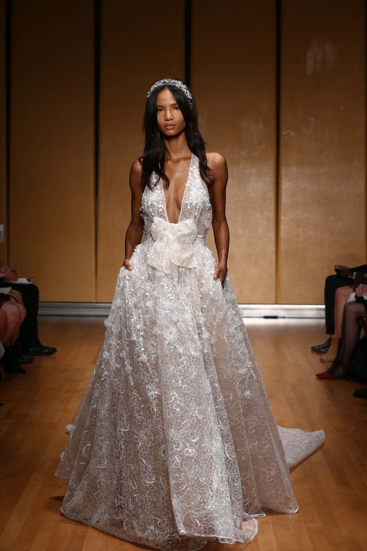 Dress for fall wedding  Inbal Dror Fall   Wedding Dress Inspiration  Pinterest