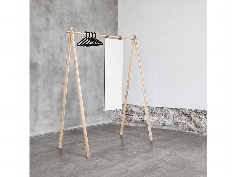 Karup Garderobe Hongi 177x74x150cm Kiefer Natur Lackiert 450101150