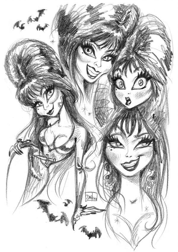 Elvira, Mistress of the Dark by darkodordevic on DeviantArt