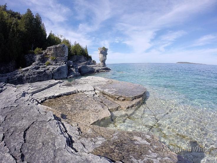 FotoPhysis 🇺🇸🇨🇦 on Flowerpot island, National parks
