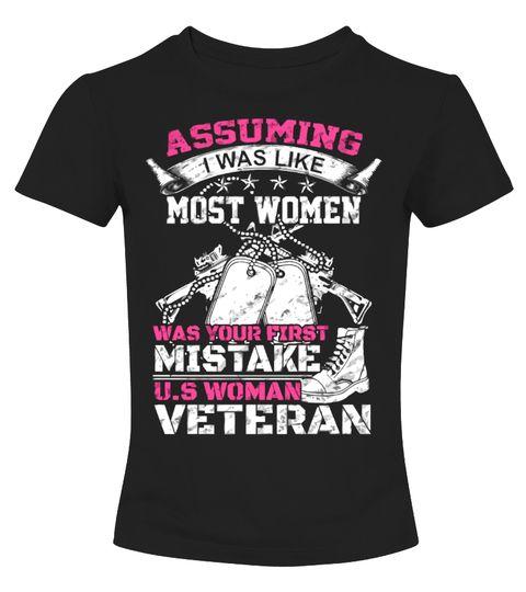 Woman Veteran Shirt