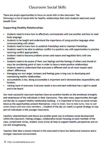 Supporting Healthy Peer Relationships Mental Illnesswellness