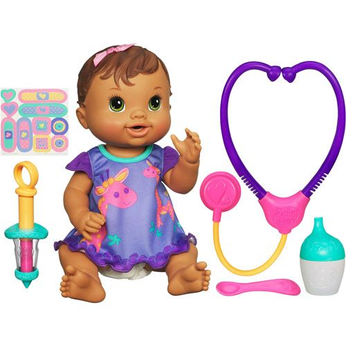 Baby Alive Baby All Better Doll Brunette Baby Alive Toddler Girl Toys Baby Doll Accessories