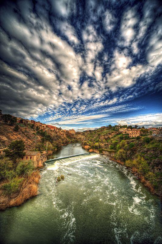 Rio Tajo, Toledo, Spain