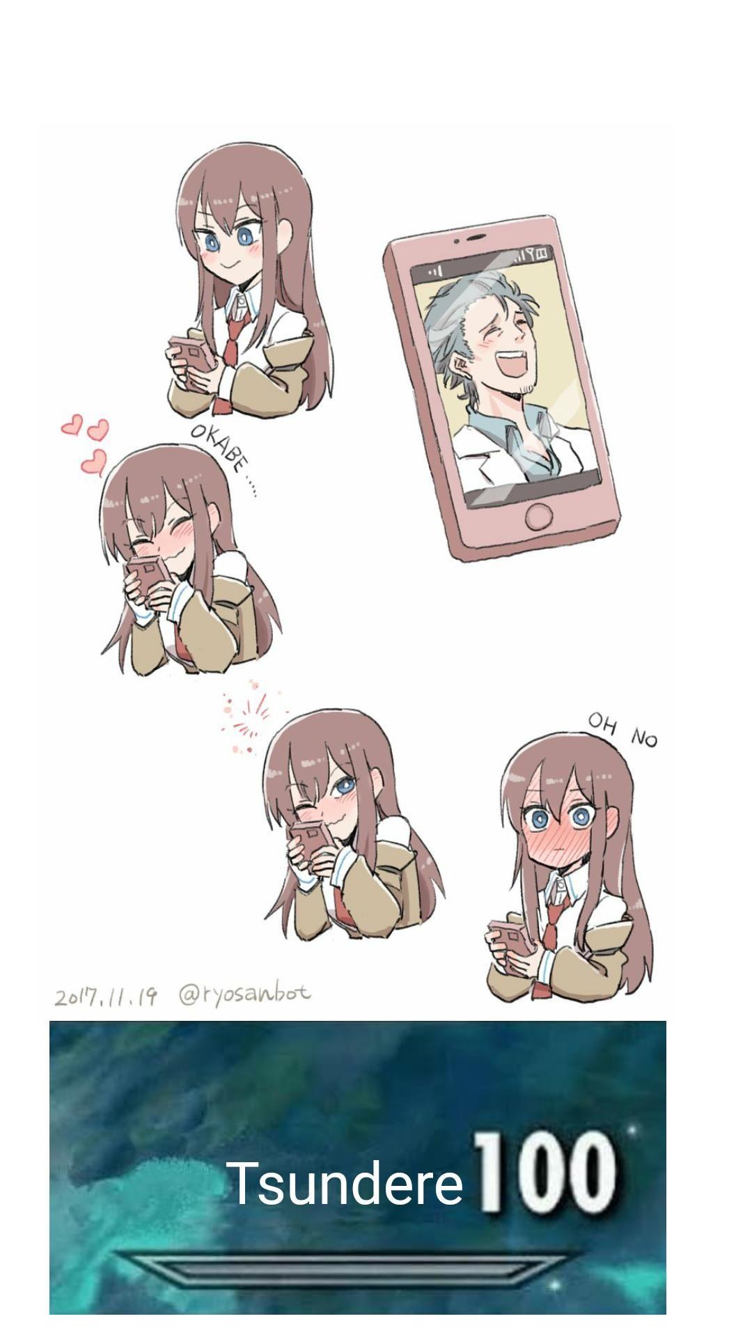 Tsundere time Anime memes funny, Anime funny, Anime memes
