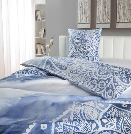 Satin Bettwasche Blau Home Decor Home Furniture
