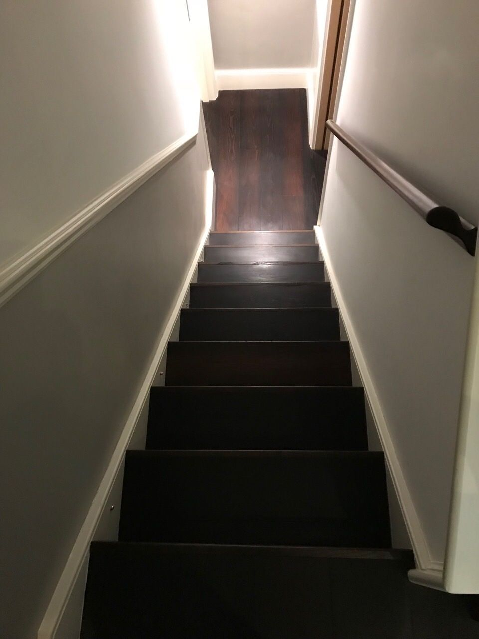 Best Wood Stairs Sanding Service After We Did The Job 400 x 300