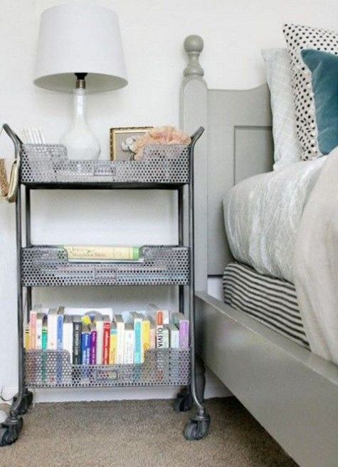 reputable site 21af9 98999 45 Ways To Use IKEA Raskog Cart At Home | Bedrooms in 2019 ...