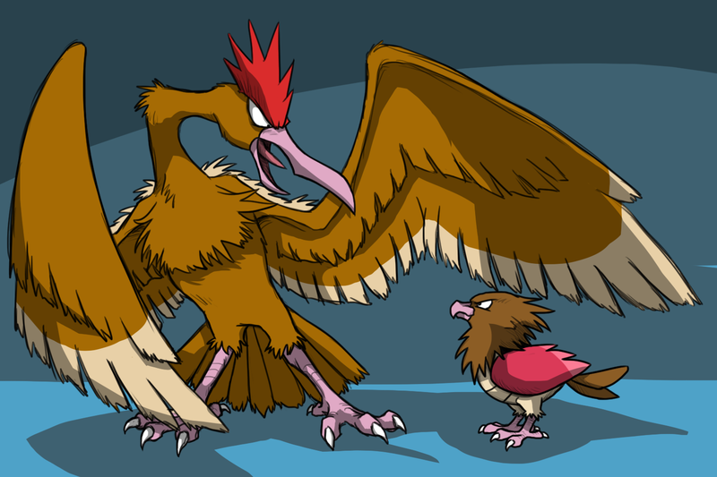 At what level does Spearow evolve?