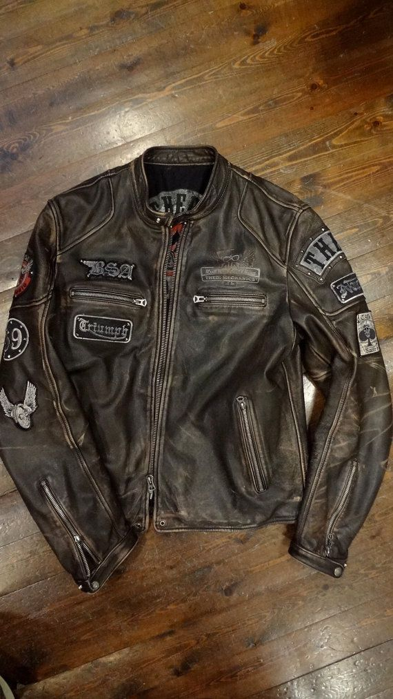 PATCHES CAFE RACER by thedileathers on Etsy, €390.00 | Cafe