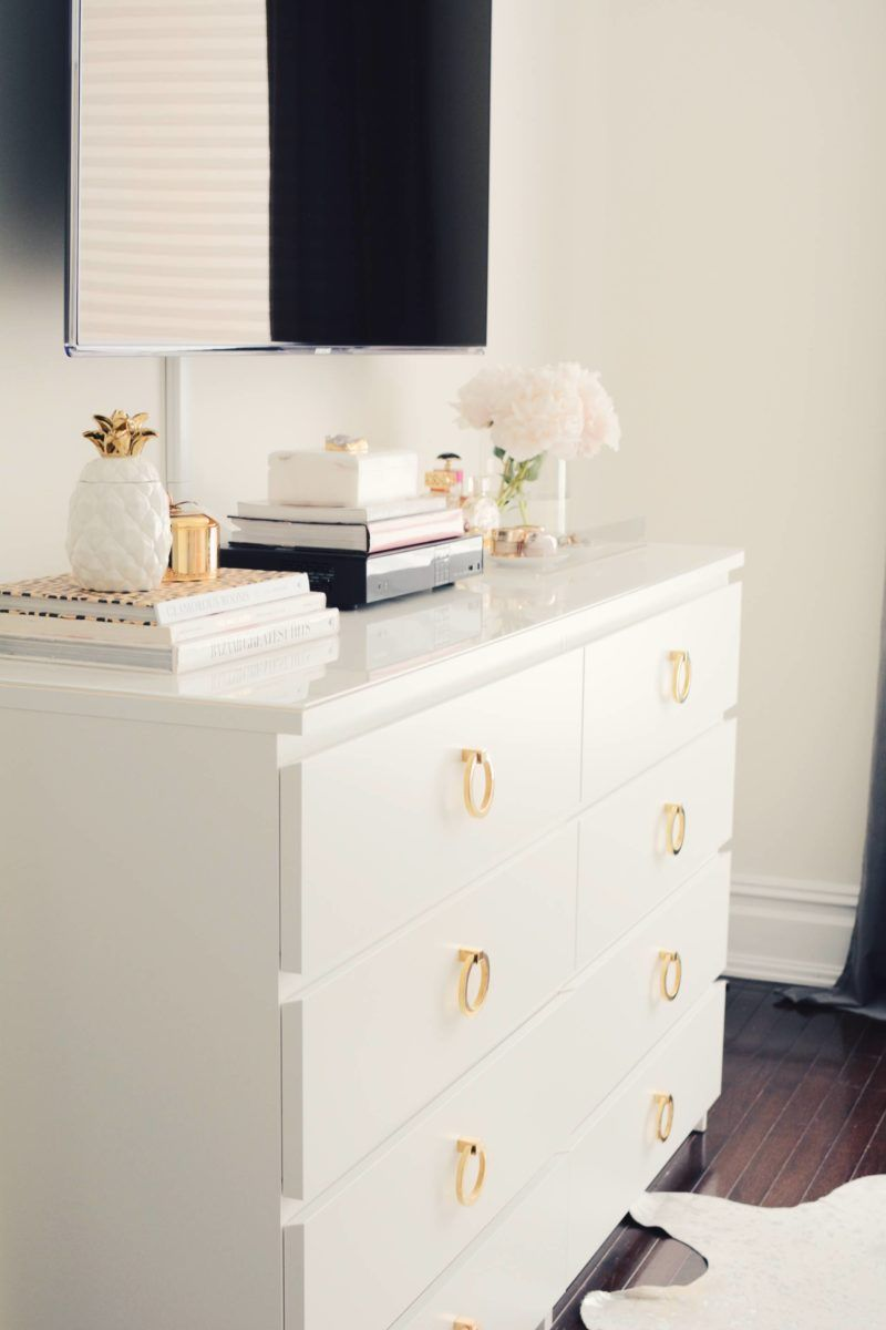 a super easy ikea dresser hack | pinterest | small spaces, dresser