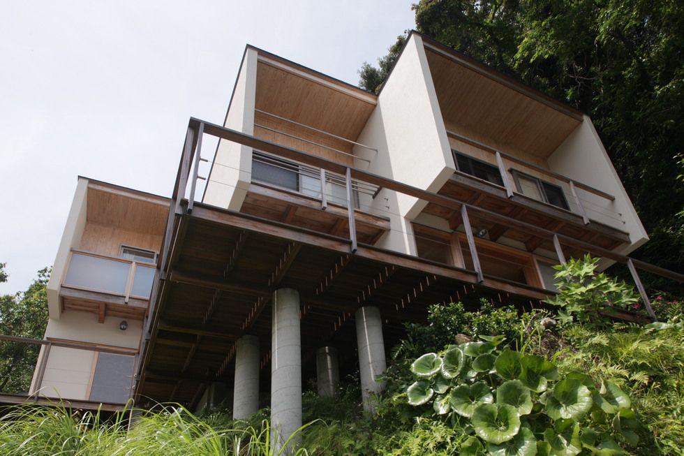 稲村ケ崎の家 横内敏人建築設計事務所