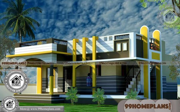 40 X 55 House Plans With Single Story Amazing 3d Elevations